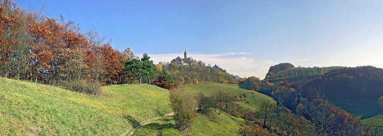 Panorama der Leuchtenburg