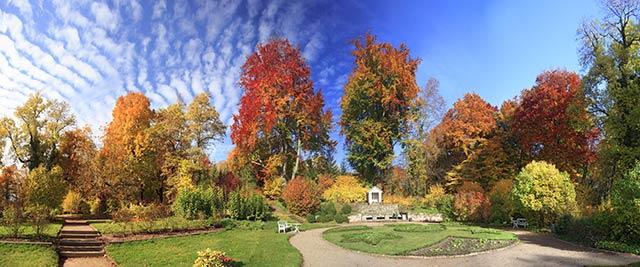 Herbst auf Schloss Kochberg