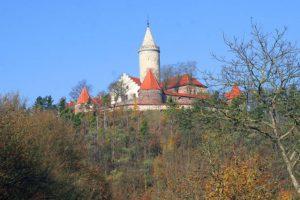 Leuchtenburg in Thüringen