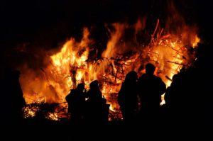 Hexenfeuer zu Walpurgis
