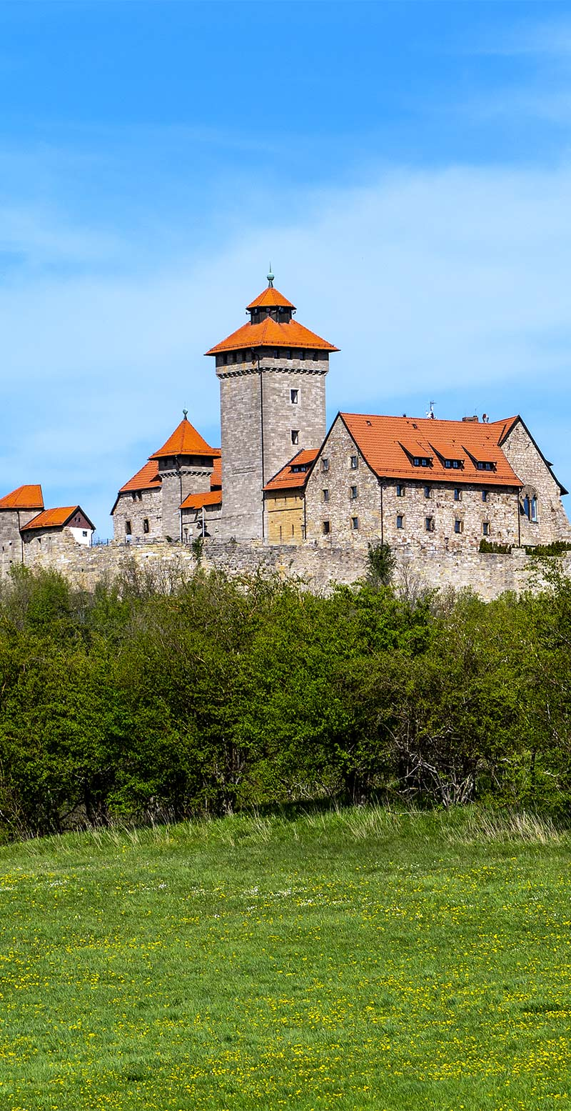 Wachsenburg bei Arnstadt