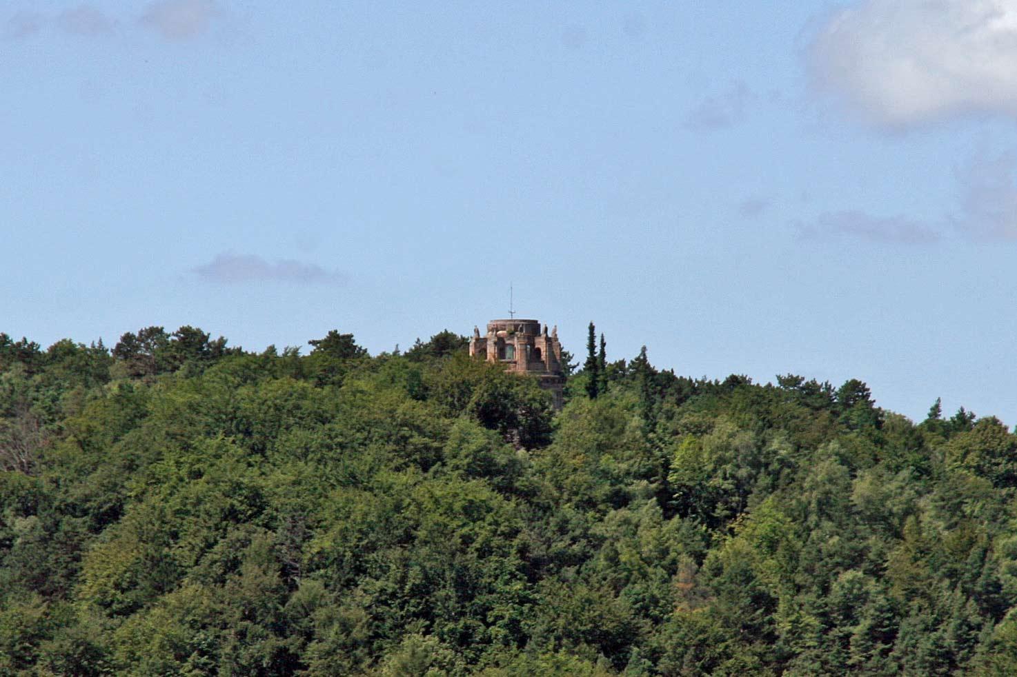 Der Bismarckturm bei Jena
