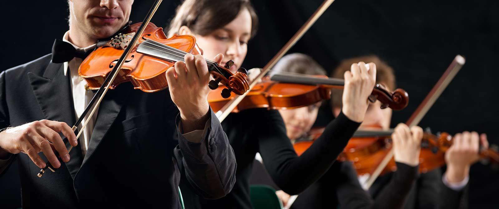 Konzert Geigen