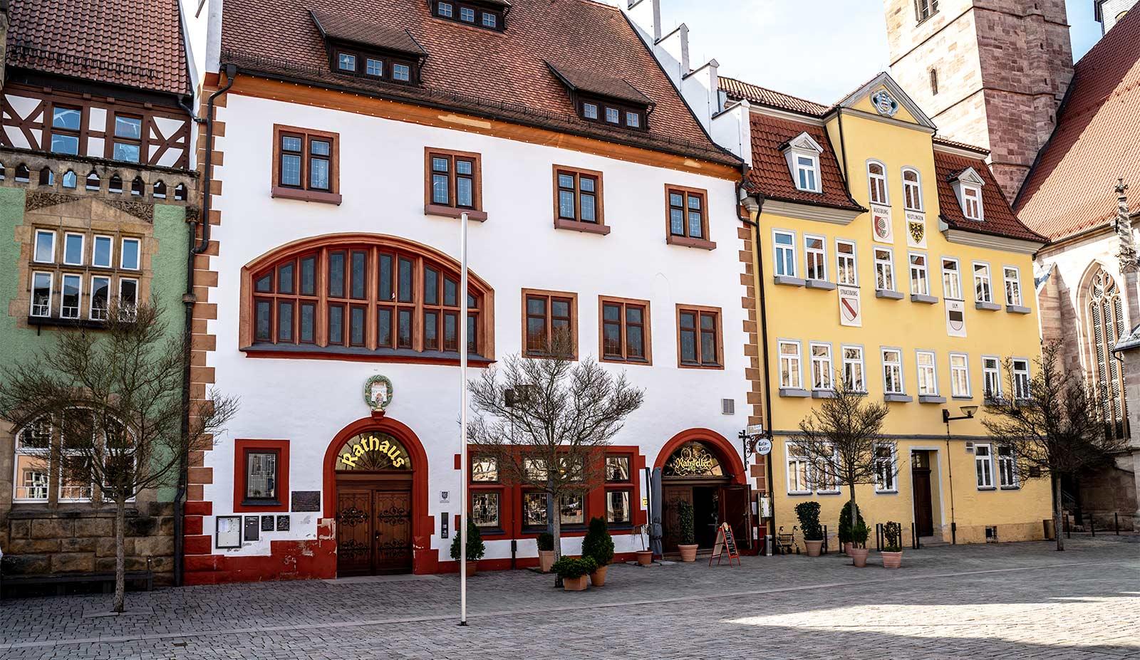 Historisches Rathaus in Schmalkalden
