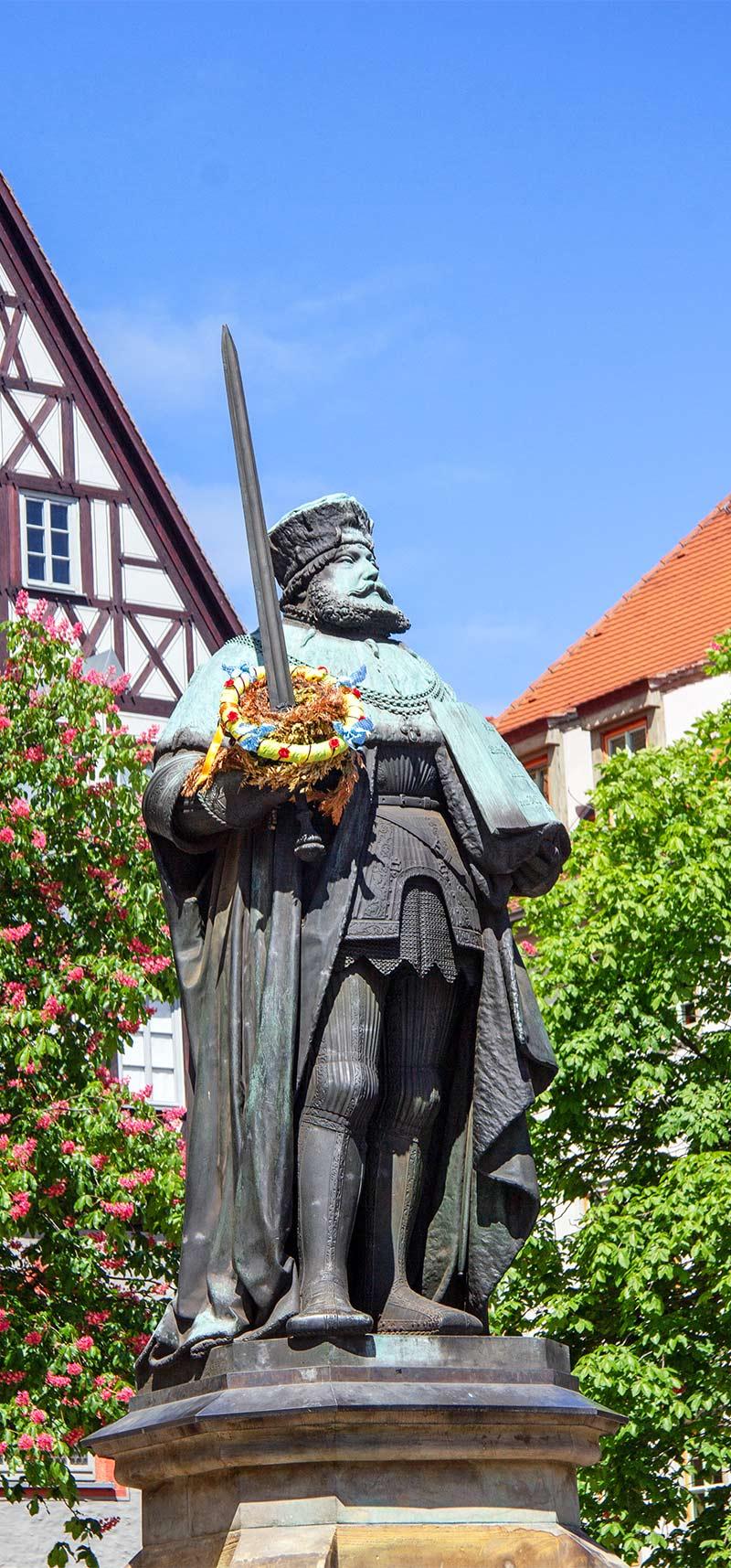 Jena Denkmal Hanfried