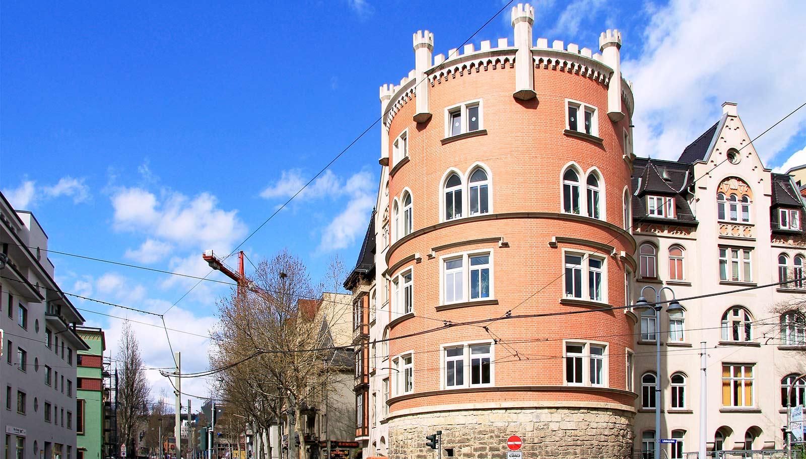 Der Rote Turm in Jena