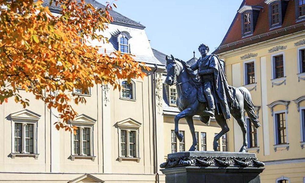 Herbstlicher Spaziergang durch Weimar