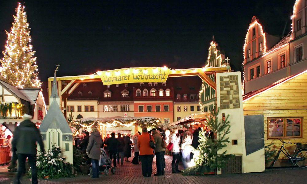 Weihnachtsmarkt in Weimar 2018