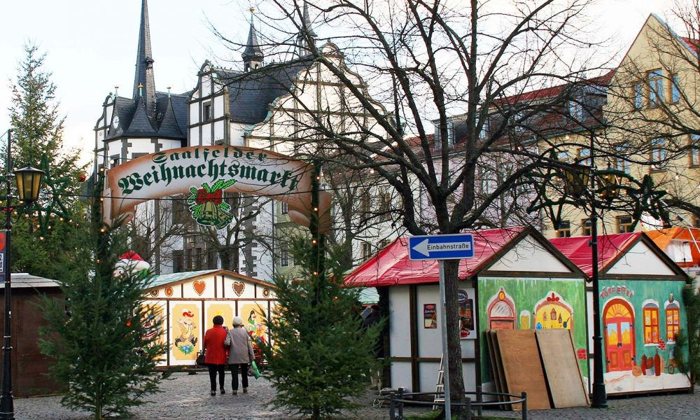 Saalfelder Weihnachtsmarkt