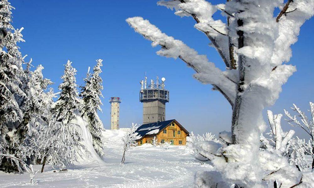 Der Schneekopf in Thüringen