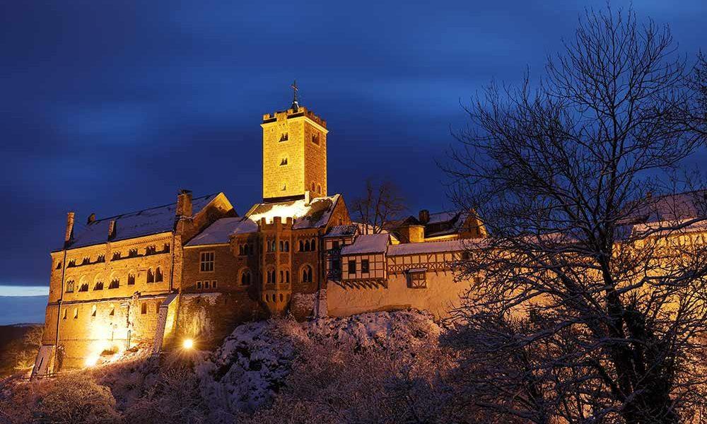 Weihnachtsmarkt auf der Wartburg