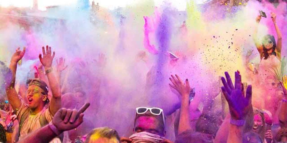 Holi Farben und Feste in Thüringen