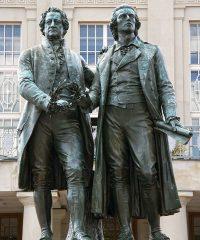 Goethe-Schiller-Denkmal Weimar