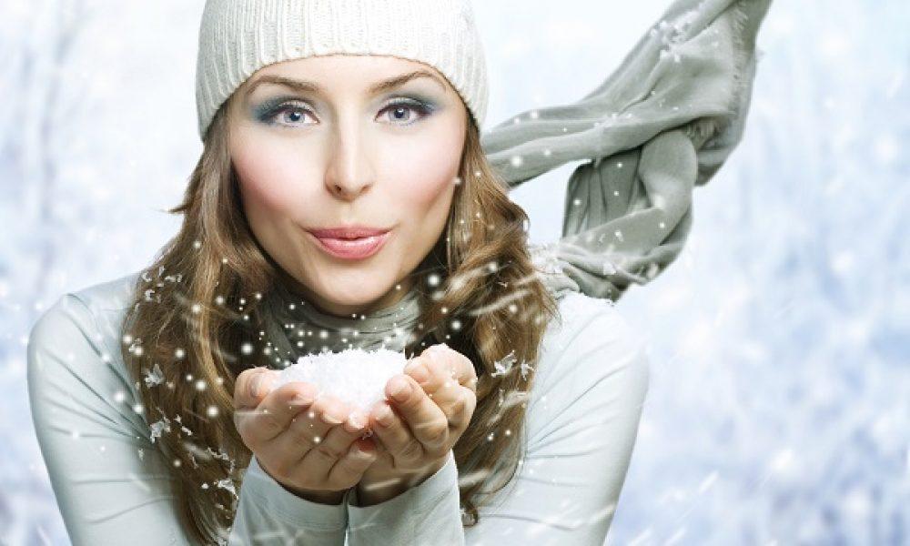 Frau Holle schickt Schnee