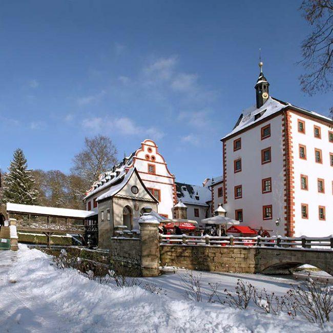 Adventsmarkt auf Schloss Kochberg
