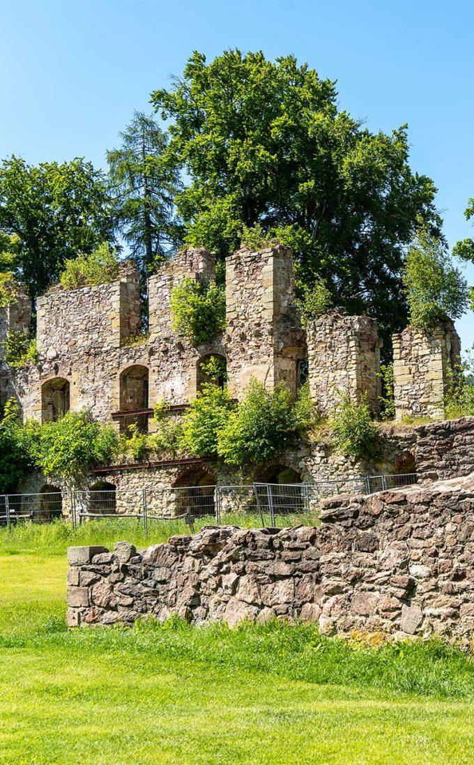 Schlossruine Gehren