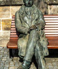 Goethe auf der Bank
