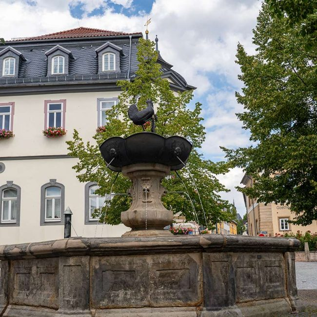 Historischer Stadtspaziergang durch Ilmenau