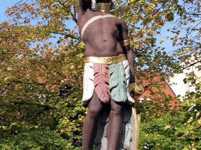 Mohrenbrunnen in Eisenberg