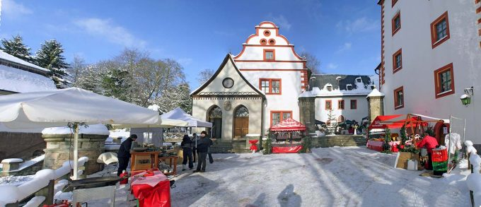 Weihnachten auf Schloss Kochberg