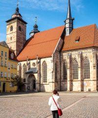 Stadtkirche St Georg in Schmalkalden
